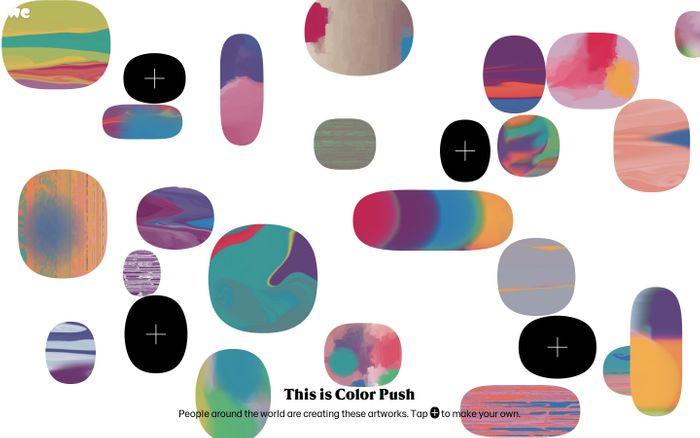 Screenshot of Color Push