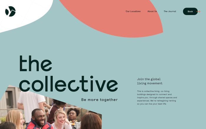 Screenshot of Co-living | Join The Global Living Movement | The Collective