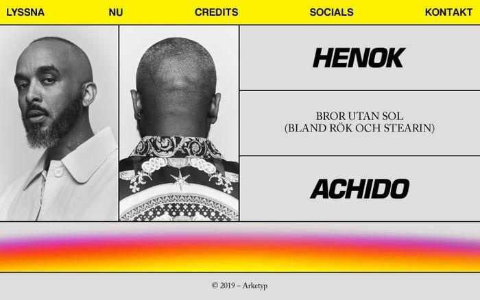 Screenshot of Henok Achido | Bror Utan Sol (Bland Rök Och Stearin)