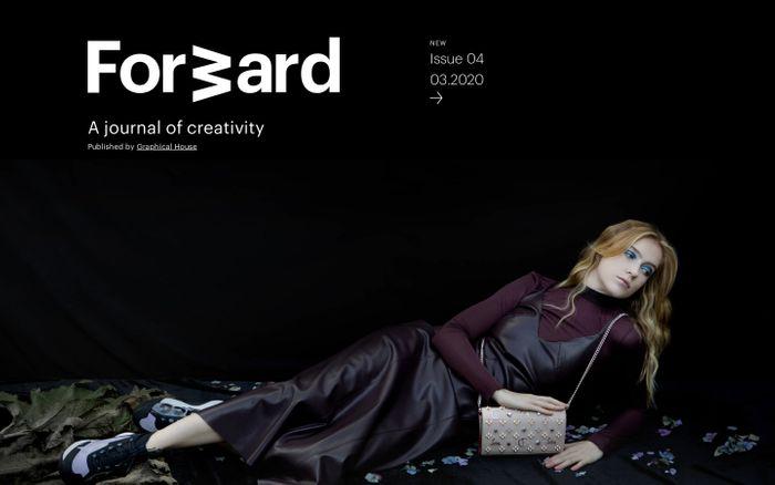 Screenshot of Forward Journal | Forward