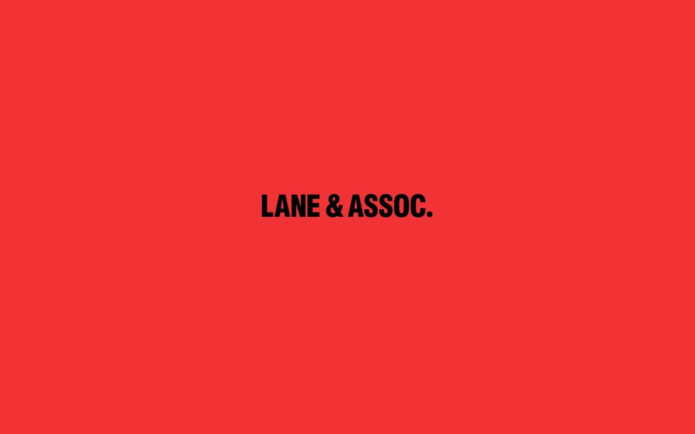 Screenshot of Lane & Associates website