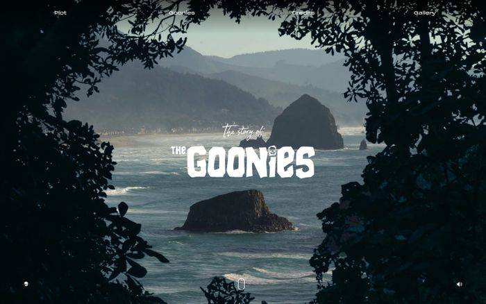 Screenshot of  The Goonies