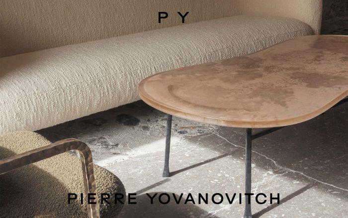 Screenshot of Pierre Yovanovitch website