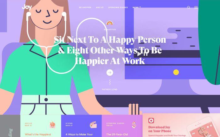 Screenshot of Joy - Spend Happier and Build Your Savings