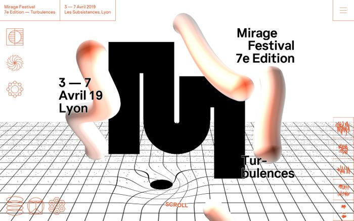 Screenshot of Mirage Festival 7e Edition - Turbulences