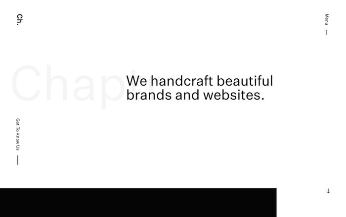 Screenshot of Web Design Southampton | Chaptr | Web Design Agency
