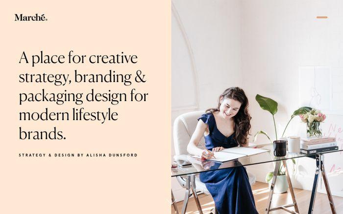 Screenshot of Studio Marche | Food and Wine Branding, Packaging Design, Website Design and Brand Promotions | Design Agency, Melbourne