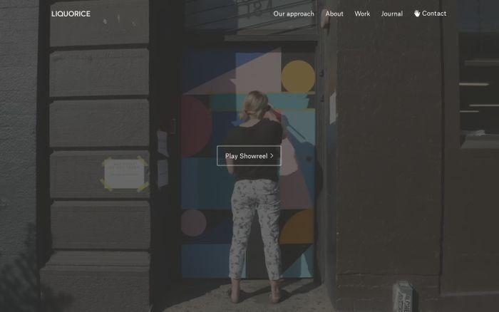 Screenshot of Liquorice Digital Agency Melbourne: branding, digital, strategy, UX
