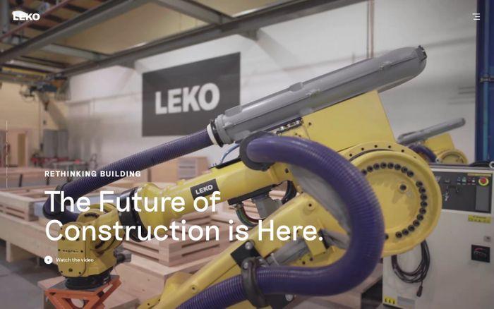 Screenshot of Leko