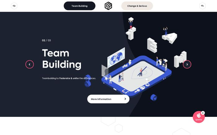 Screenshot of Team Building & Serious Game - Innovative Gamification- UrbanGaming