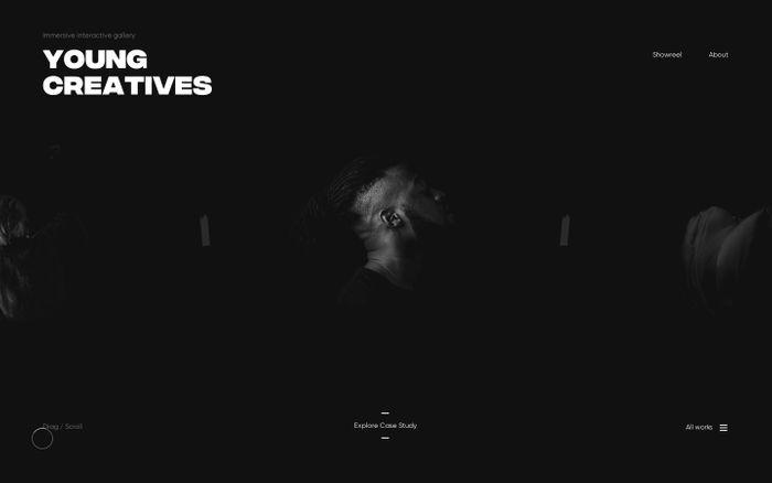 Screenshot of Martin Ehrlich – Freelance Interactive Art Director