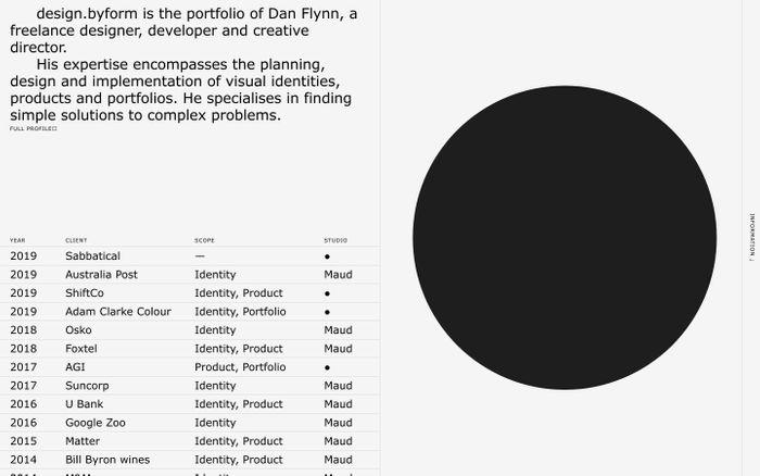 Screenshot of design.byForm