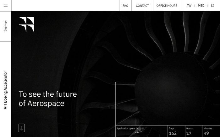 Screenshot of ATI Boeing Accelerator