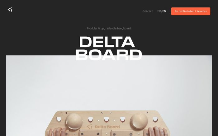 Screenshot of Delta Board