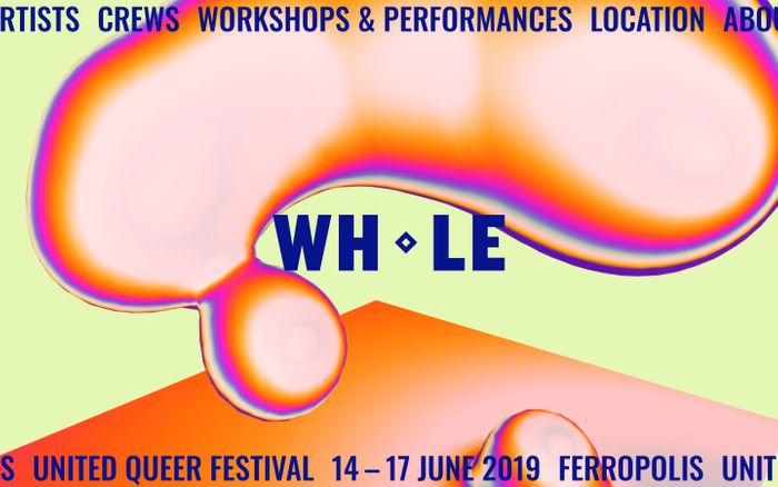 Screenshot of WHOLE ◇ United Queer Festival