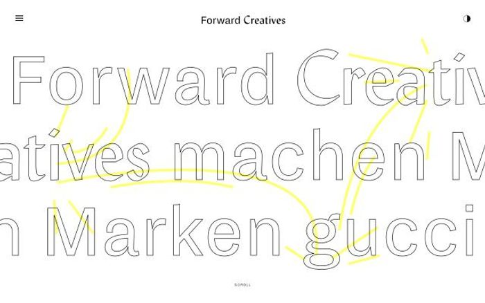 Screenshot of Forwardcreatives