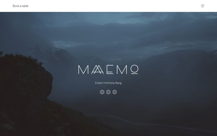 Screenshot of Maaemo Restaurant – Maaemo