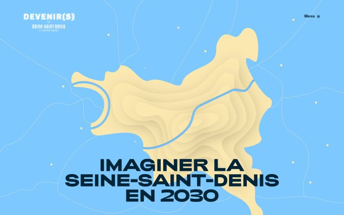 Screenshot of Imaginer la Seine-Saint-Denis en 2030 - Devenir(s)