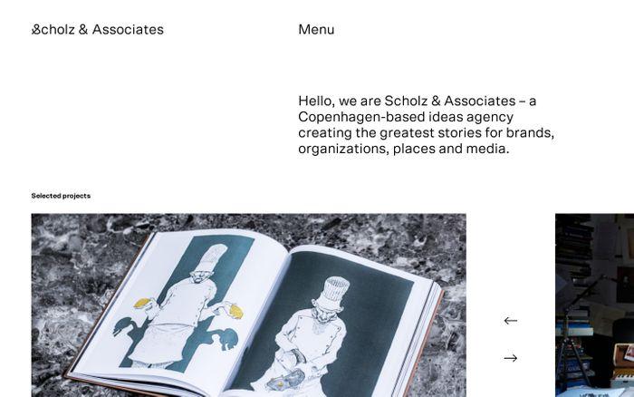 Screenshot of scholz and associates