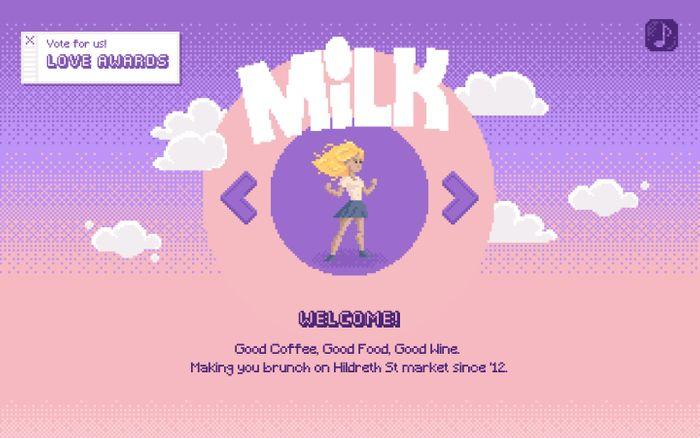 Screenshot of MILK