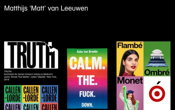 Screenshot of Matthijs 'Matt' van Leeuwen