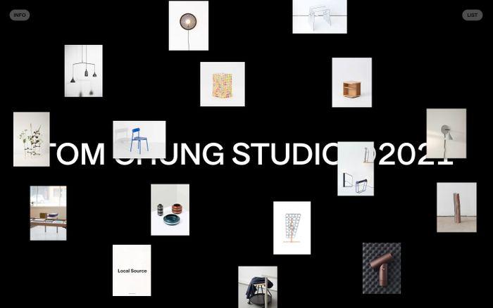 Screenshot of Tom Chung Studio