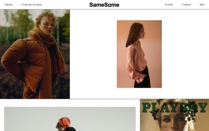 Screenshot of SameSame ...but different