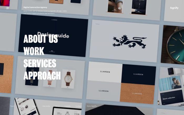 Screenshot of Digital Innovation Agency | Copenhagen & Montréal