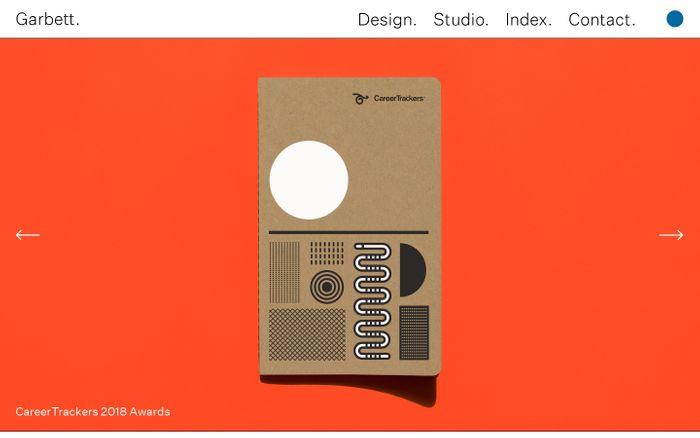 Screenshot of Garbett Design