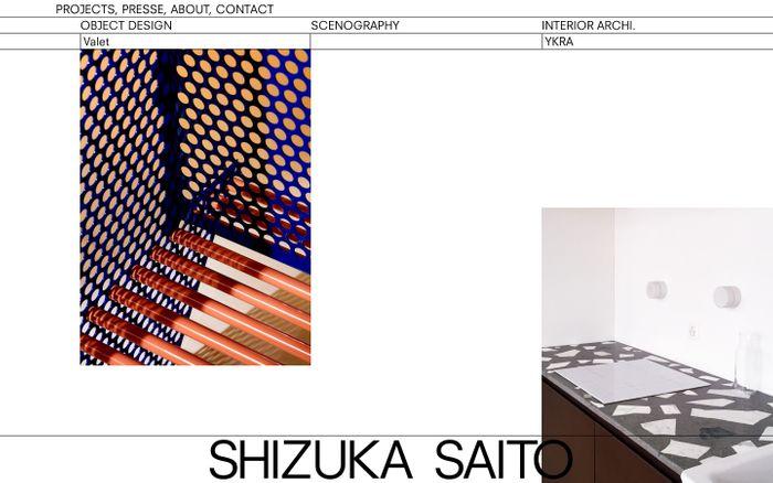 Screenshot of Shizuka Saito