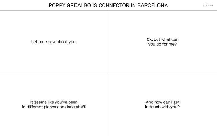 Screenshot of Poppy Grijalbo