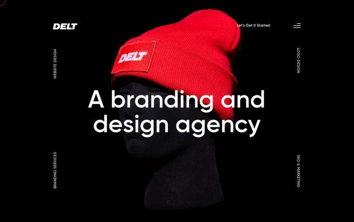 Screenshot of DELT // The Best St. Louis Web Designers & Branding Agency website