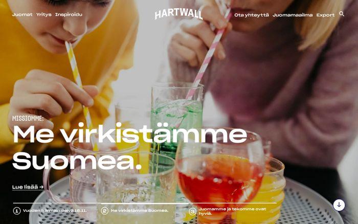 Screenshot of Hartwall | Hartwall