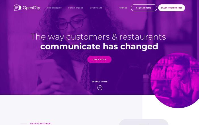 Screenshot of OpenCity