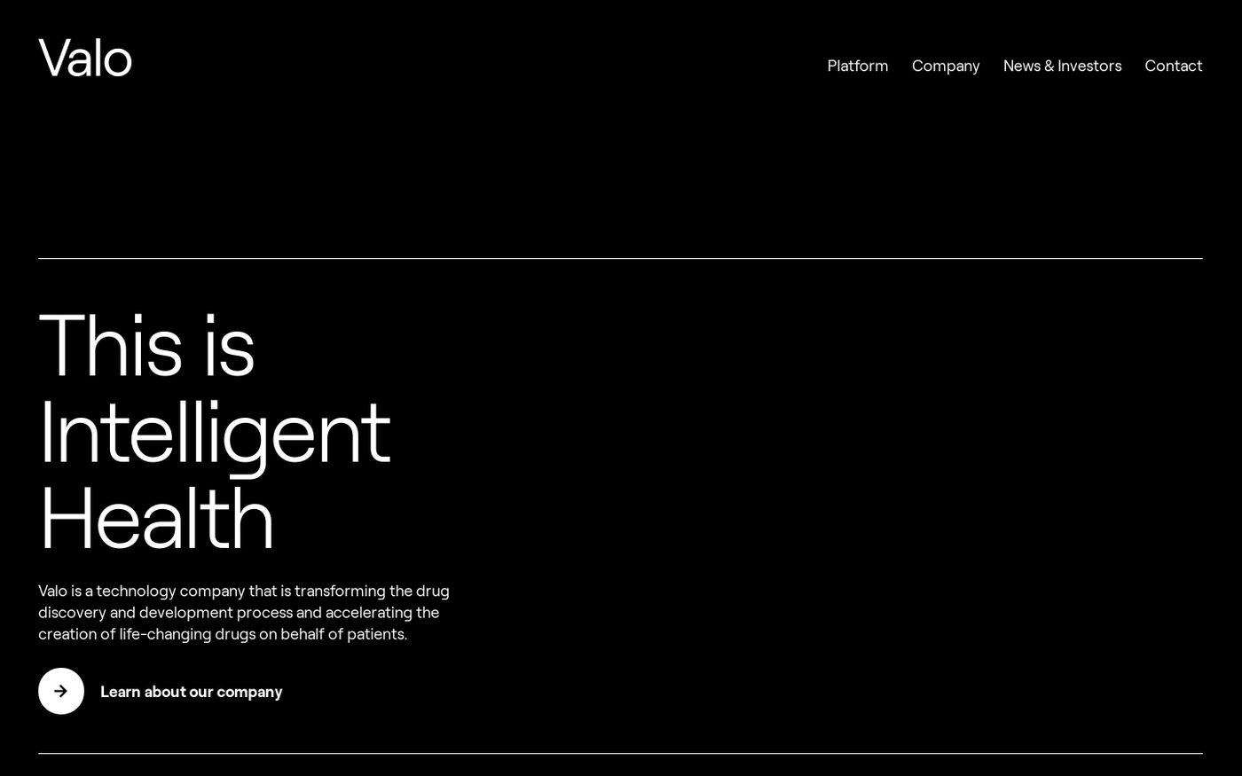 Screenshot of This is Intelligent Health website