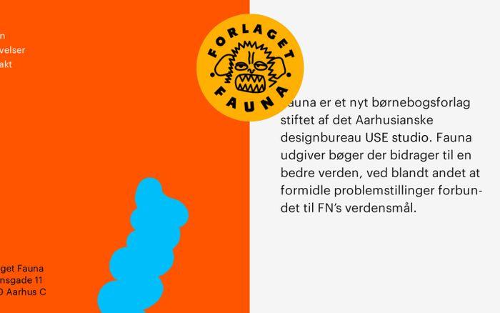 Screenshot of Forlaget Fauna