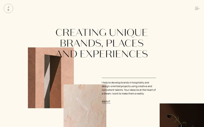Screenshot of Juliana Cavalcanti – Brand Strategy & Creative Direction