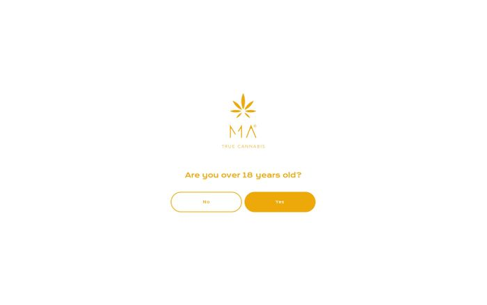 Screenshot of MA True Cannabis: CBD Inflorescence & Pre-Rolled Joints