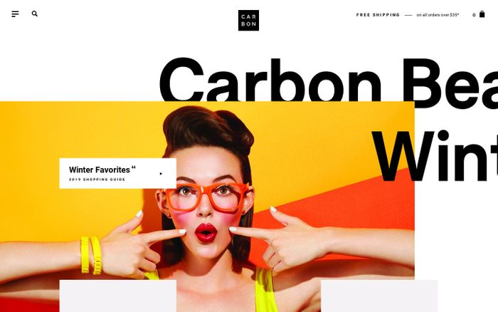 Screenshot of Carbon Beauty