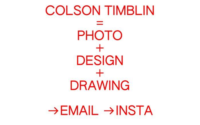 Screenshot of Colson
