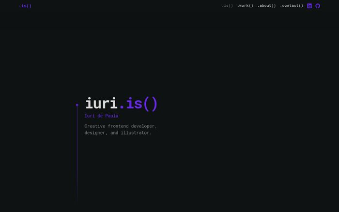 Screenshot of iuri.is