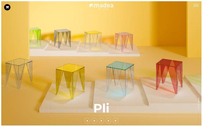 Screenshot of  Madea Milano