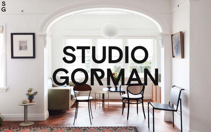 Screenshot of Studio Gorman | Home