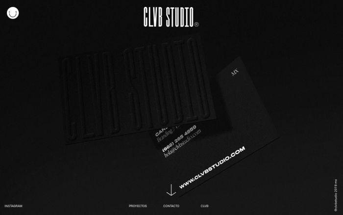 Screenshot of CLVB STUDIO – Comunicación Visual
