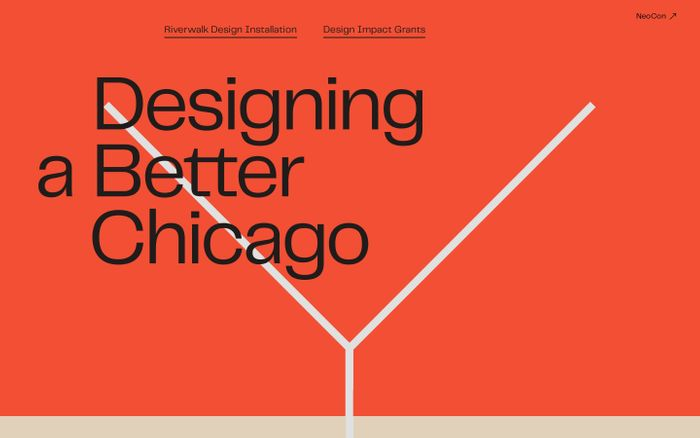 Screenshot of Designing a Better Chicago
