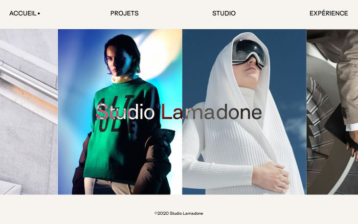 Screenshot of Studio Lamadone