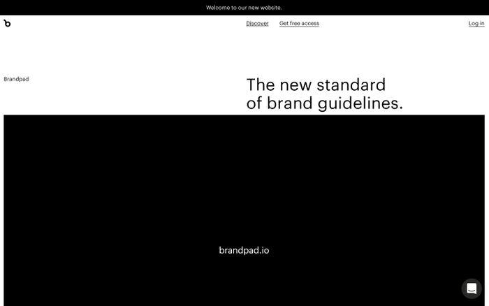 Screenshot of The brand guidelines platform
