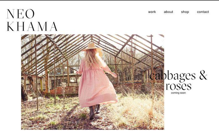 Screenshot of Neo Khama