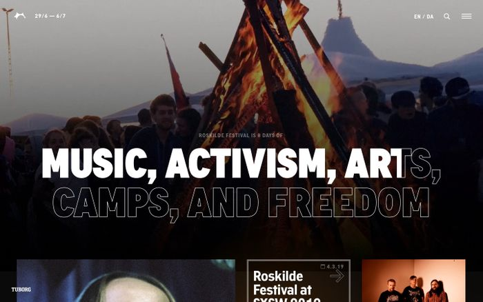 Screenshot of Roskilde Festival 2019 | Roskilde Festival