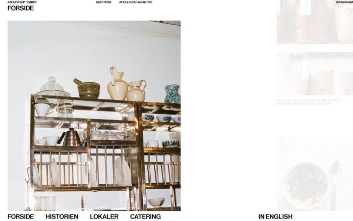 Screenshot of Atelier September